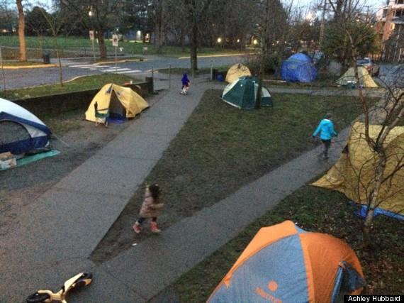 victoria bc tents kindergarten