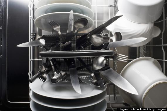 dishwasher knives