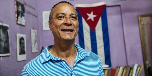 Le dissident cubain Angel Figueredo