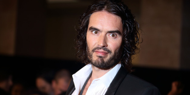 LONDON, ENGLAND - OCTOBER 06:  Russell Brand attends the Pride of Britain awards at The Grosvenor House Hotel on October 6, 2014 in London, England.  (Photo by Mike Marsland/WireImage)