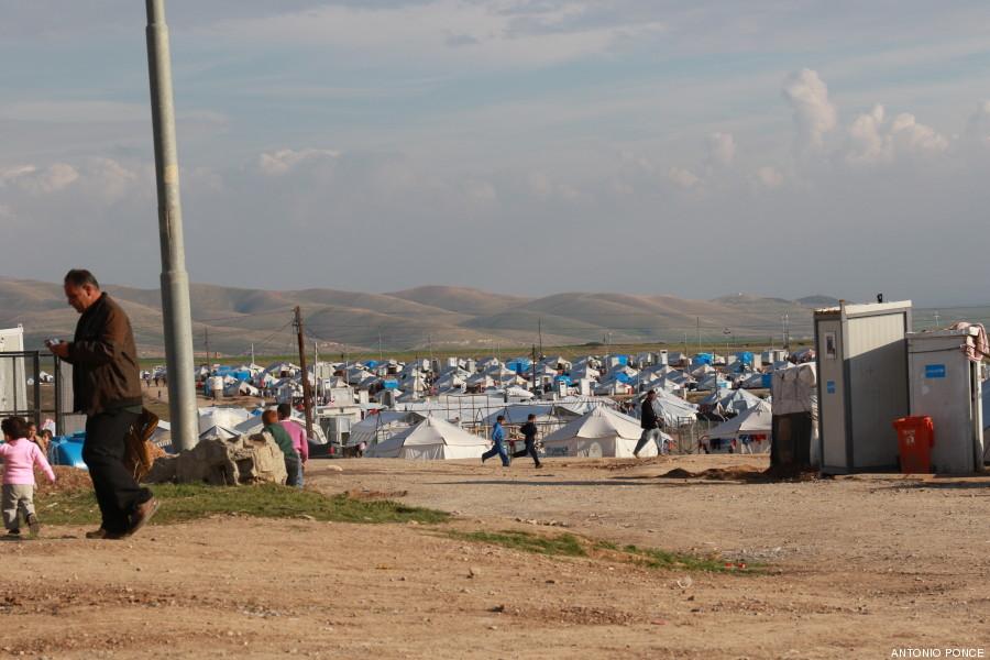 irak campamento
