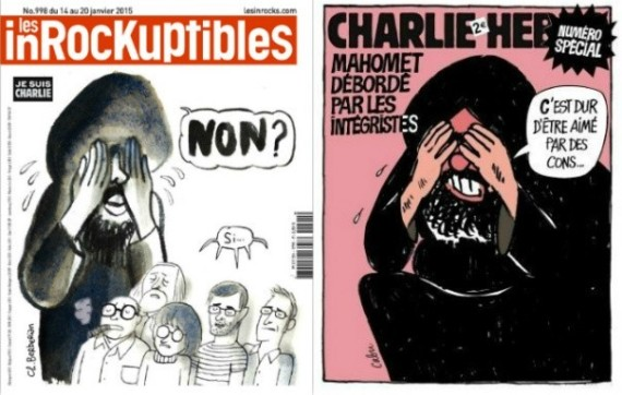 couverture inrocks caricature prophete