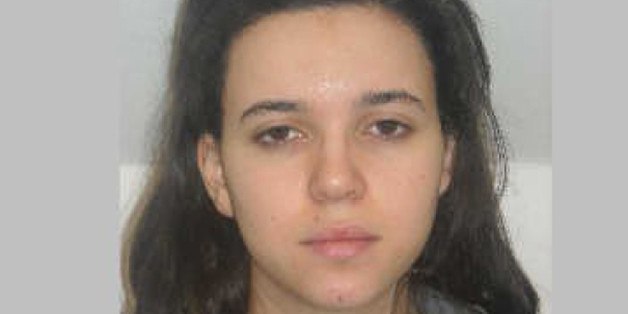 FILE - This photo provided by the Paris Police Prefecture Friday, Jan. 9, 2015 shows  Hayat Boumedienne the suspect in the kosher market attack. Turkey's foreign minister said Monday Jan.12, 2015 that Boumedienne, wife of Amedy Coulibaly, one of the perpetrators of the terrorist rampage in France last week, crossed into Syria from Turkey on Jan. 8. (AP Photo/Prefecture de Police de Paris, File)