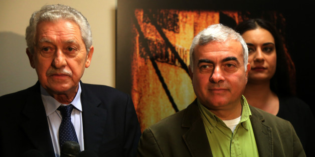 Ο Φώτης Κουβέλης και ο Νίκος Χρυσόγελος (Φωτογραφία Αρχείου)