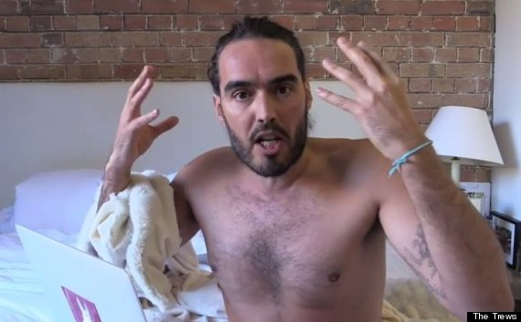 Russell Brand Calls Nigel Farage And Fox News' Sean Hannity 'Super-Idiot Conglomerate'