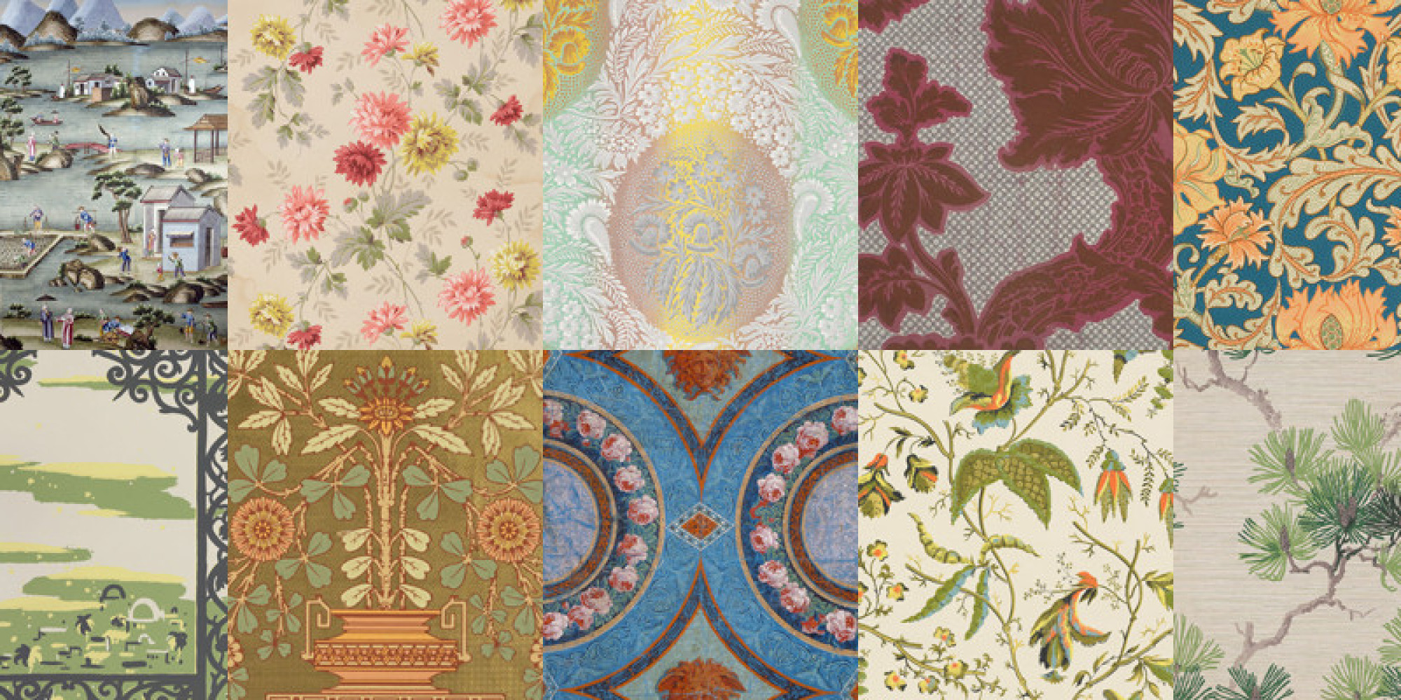 thankfully someone is preserving a history of wallpaper