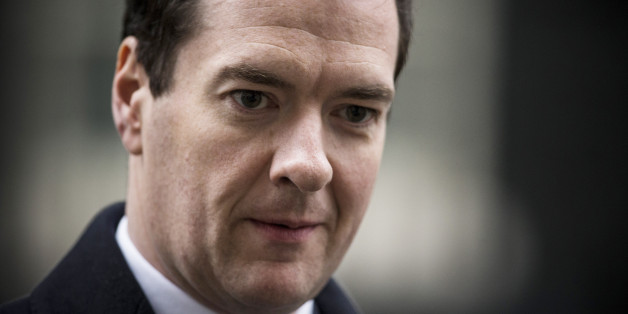 LONDON, ENGLAND - JANUARY 06:  Chancellor of the Exchequer George Osborne leaves Downing Street after a cabinet meeting on January 6, 2015 in London, England. The cabinet meeting is the first since the Christmas recess.  (Photo by Dan Kitwood/Getty Images)