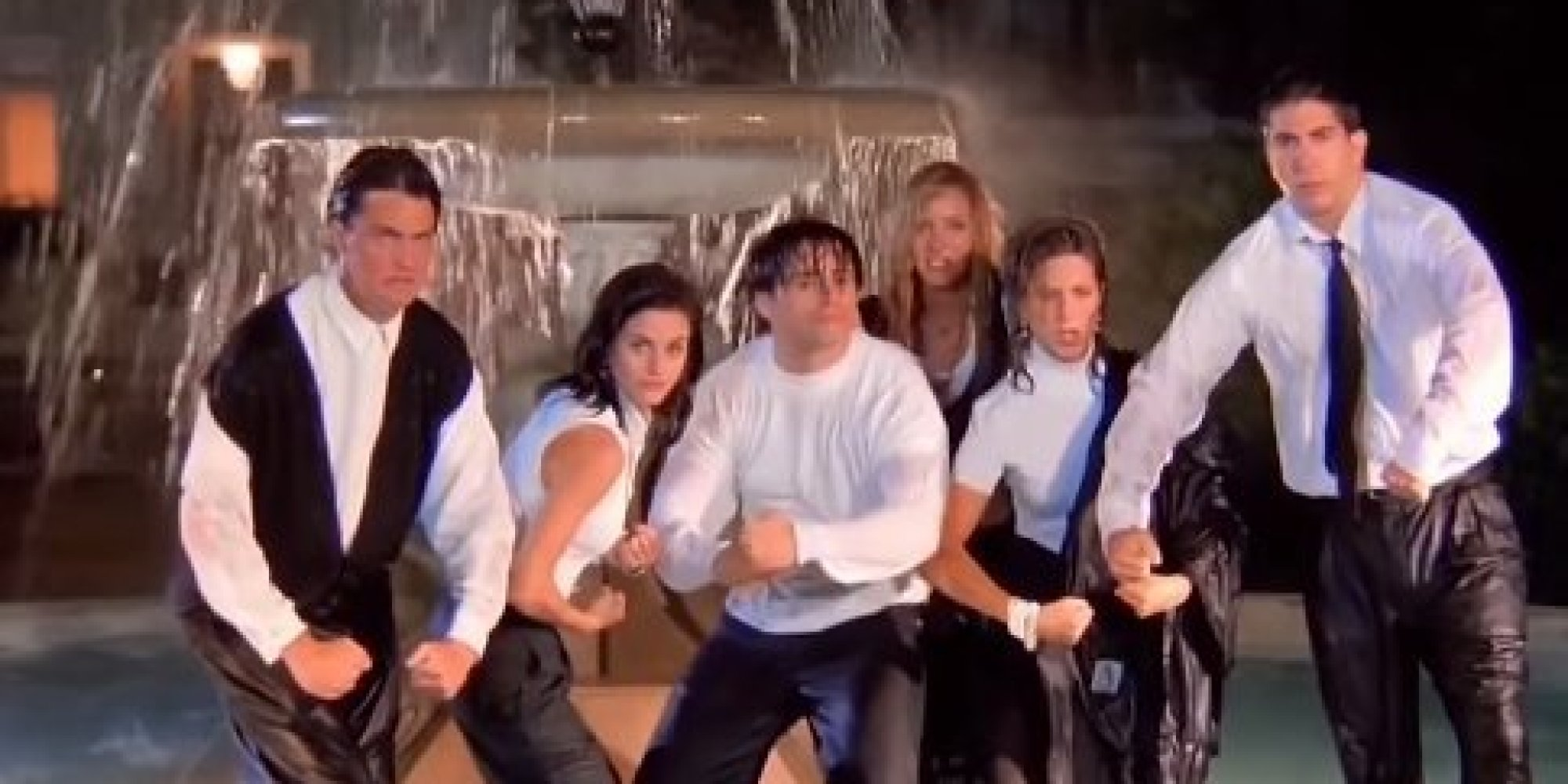 The 'Friends' Opening Sequence Without Music Is Actually ...