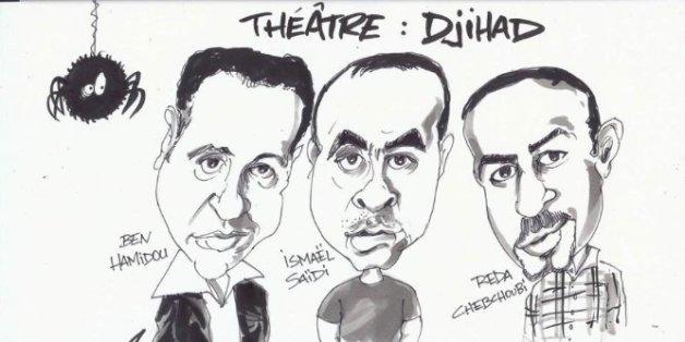 """""""Djihad"""", la pièce de théâtre d'Ismaël Saidi, trouve un nouvel écho depuis les attentats de Paris"""