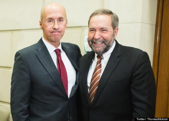 kevin page thomas mulcair