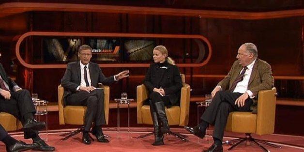 Im Gespräch mit Pegida gerät Günther Jauch ins Schwimmen