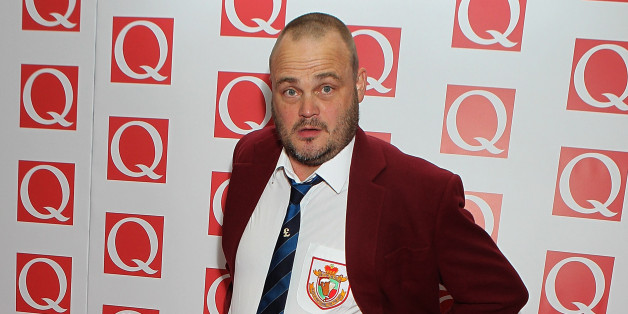Al Murray attends the Q Awards at the Grosvenor House Hotel in London.