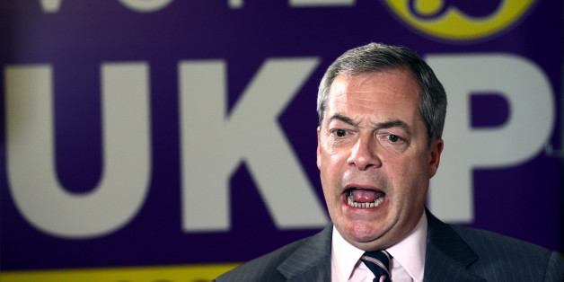 ROCHESTER, ENGLAND - NOVEMBER 21:  United Kingdom Independence Party (UKIP) leader Nigel Farage speaks during an interview in the UKIP office on November 21, 2014 in Rochester, England. UKIP now has a second elected MP at Westminster after Mark Reckless won the Rochester and Strood by-election.  (Photo by Carl Court/Getty Images)