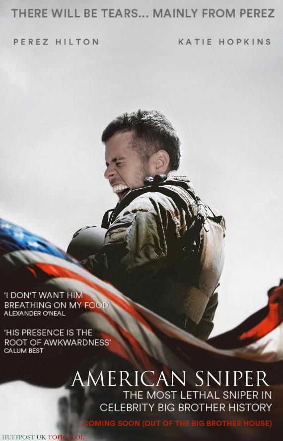 perez hilton american sniper