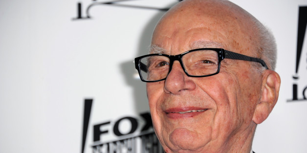 Rupert Murdoch arrives at the Twentieth Century Fox & Fox Searchlight Pictures Oscar Party at the LURE on Sunday, Feb. 24, 2013 in Los Angeles. (Photo by Richard Shotwell/Invision/AP)