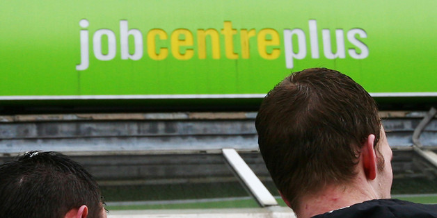"Embargoed to 0001 Wednesday October 29 File photo dated 19/03/09 of a Job Centre Plus branch, as more than two million young people will be jobless or underemployed by 2018 unless radical changes are made to ""rescue"" them from long-term unemployment, according to a new report."