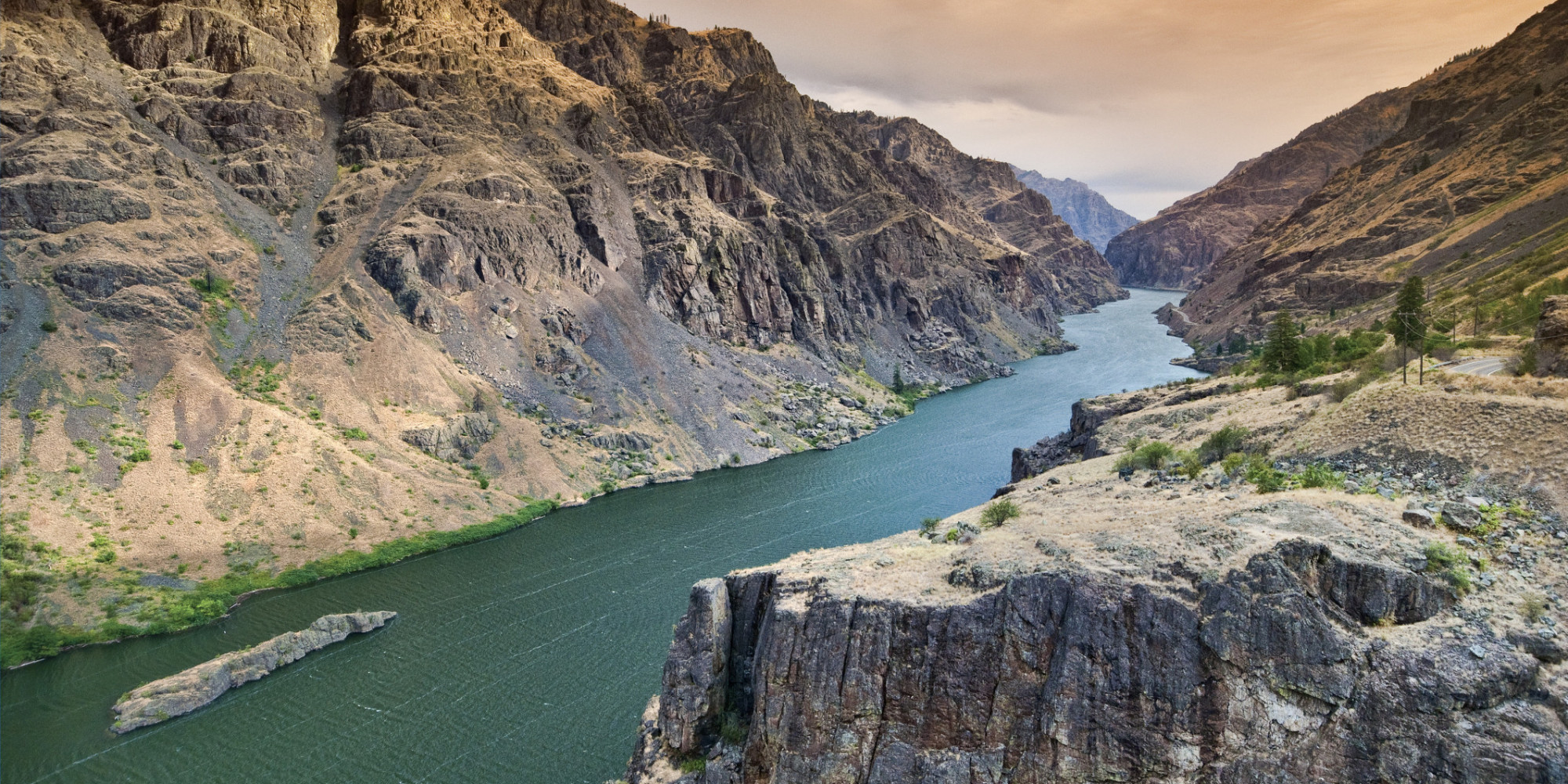 Photos Keeping Cool In Hells Canyon Huffpost
