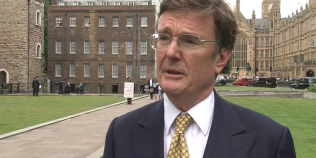 Videograb image taken dated 26/6/2013 of Lord Oakeshott who delivered a parting shot at Nick Clegg today as he quit the Lib Dems rather than face disciplinary action for leaking a poll suggesting the leader is set to lose his Commons seat.