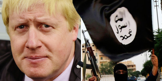 Johnson is in Iraq to see the work of the British forces and build trade links