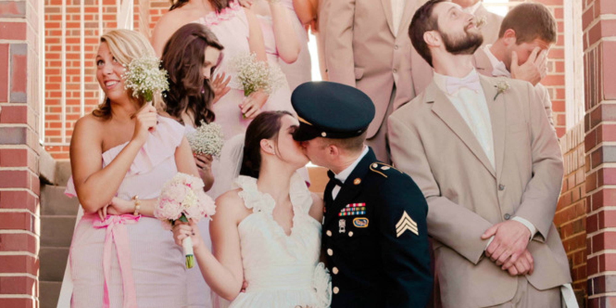 20 Awesome Photo Ideas For Wedding Parties Who Know How To Have Fun Huffpost