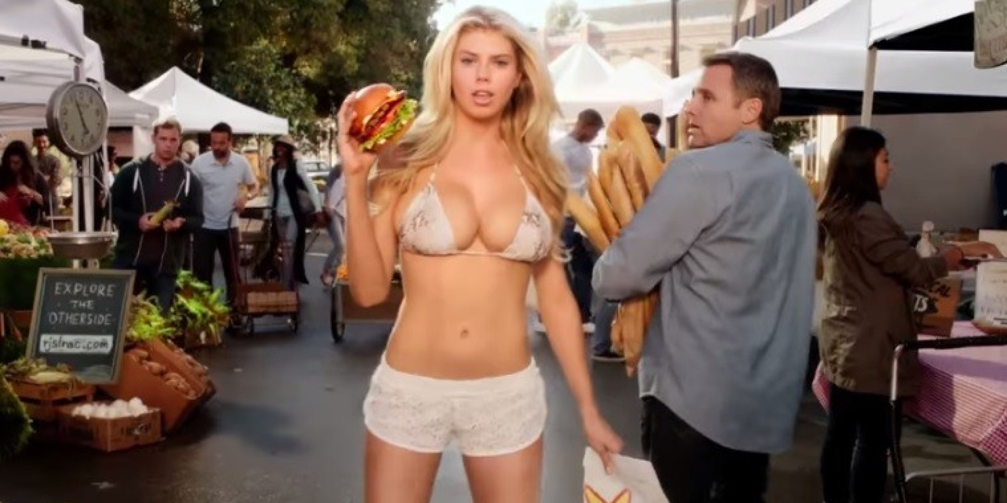 Carl's Jr. Super Bowl Commercial Features An 'All Natural