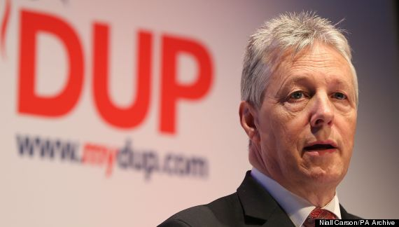 peter robinson dup