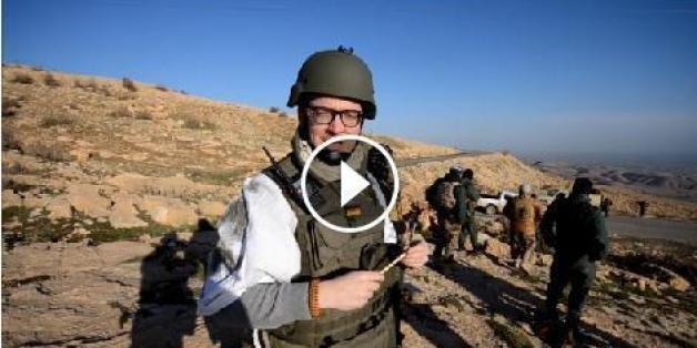 FDP-Politiekr Tobias Huch im Irak