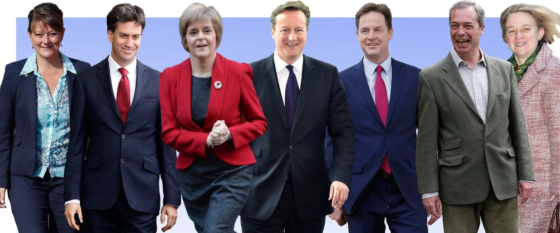 General Election 2015: 100 Things To Mark 100 Days Until We Go To The