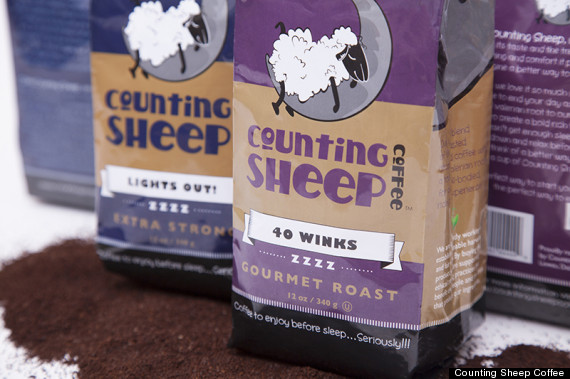 Counting Sheep Coffee Actually Makes You Sleepy