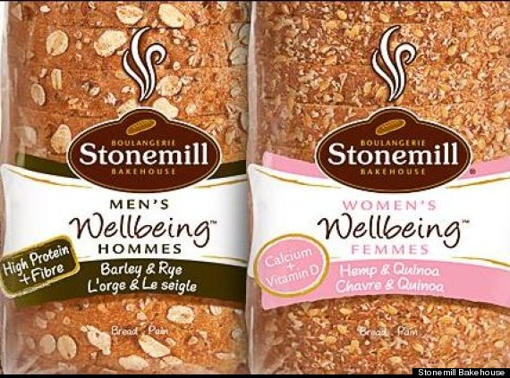 gendered bread