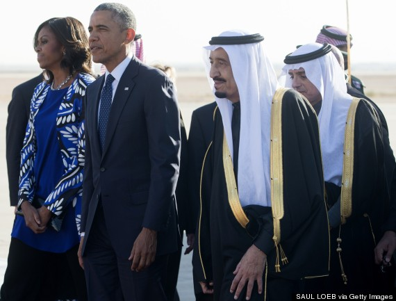 Michelle Obama Looks Unimpressed And Refuses To Wear Headscarf In Saudi Arabia