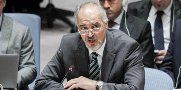 L'ambassadeur de Syrie à l'ONU, Bachar Jaafari