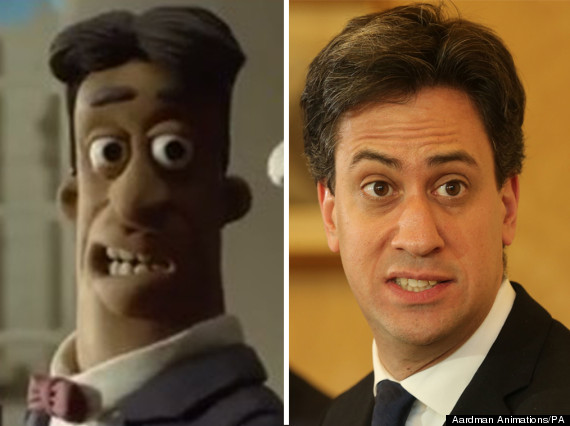 ed miliband wallace and gromit