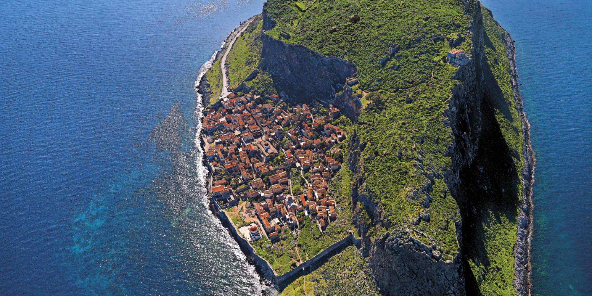 Meet Monemvasia A Hidden Fortress Town Perched On An
