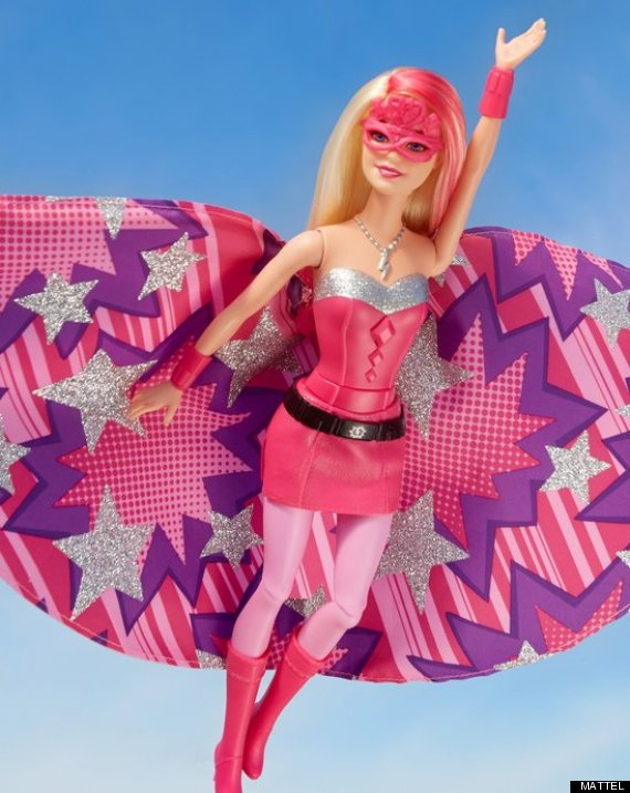 superhero barbie