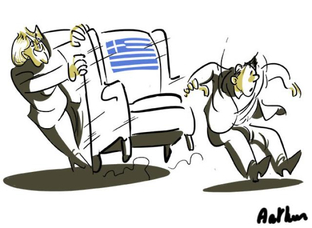 dessin banques grecques