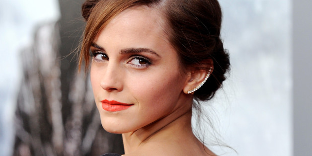 """Actress Emma Watson attends the premiere of """"Noah"""" at the Ziegfeld Theatre on Wednesday, March 26, 2014 in New York. (Photo by Evan Agostini/Invision/AP)"""