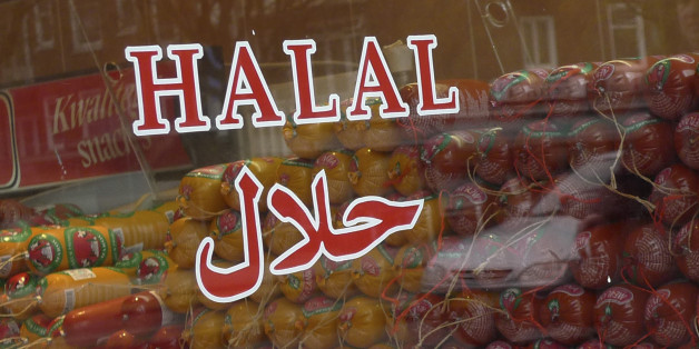 Halal butcher store in Amsterdam, Netherlands, Thursday March 31, 2011. The Dutch parliament passed a law banning centuries-old Jewish and Muslim traditions on the ritual slaughter of cows, sheep and chickens in 2014