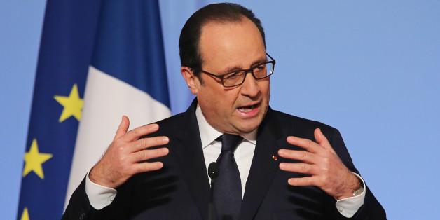 Ο Γάλλος πρόεδρος, Φρανσουά Ολάντ (φωτογραφία αρχείου)