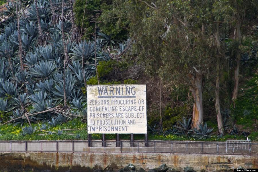 sign at alcatraz
