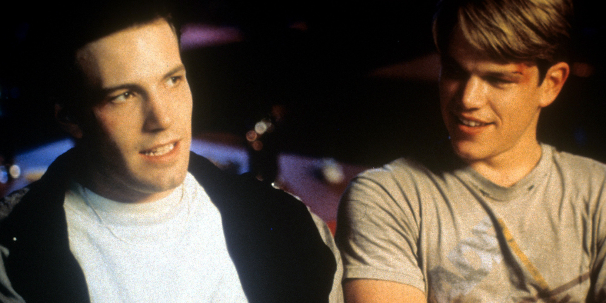 yes ben affleck and matt damon put a gay sex scene in good will  yes ben affleck and matt damon put a gay sex scene in good will hunting script huffpost