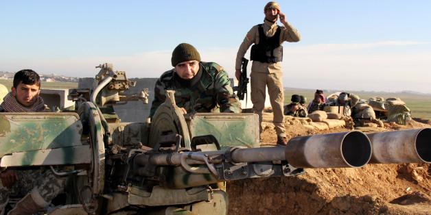 Κούρδοι μαχητές Πεσμεργκά