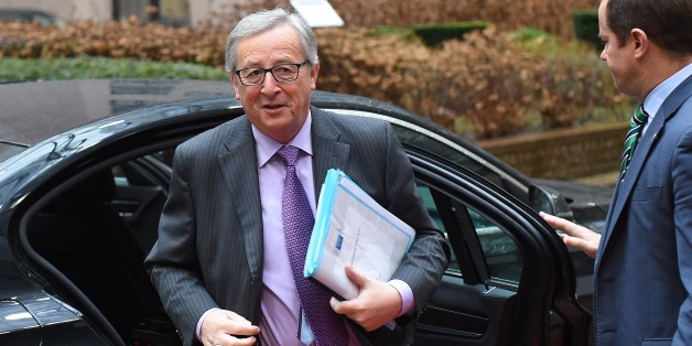 European Commission President Jean-Claude Juncker arrives to attend a Eurogroup finance ministers meeting at the European Council in Brussels, on January 26, 2015. AFP PHOTO / EMMANUEL DUNAND        (Photo credit should read EMMANUEL DUNAND/AFP/Getty Images)