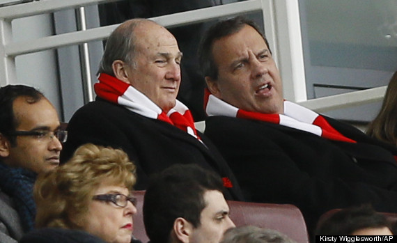 chris christie arsenal