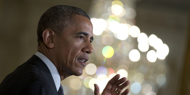 President Barack Obama speaks in the East Room of the White House in Washington, Friday, Jan. 30, 2015, where he called for an investment to move away from one-size-fits-all-medicine, toward an approach that tailors treatment to your genes.  (AP Photo/Carolyn Kaster)