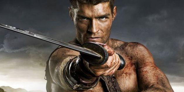 Liam McIntyre in 'Spartacus.'