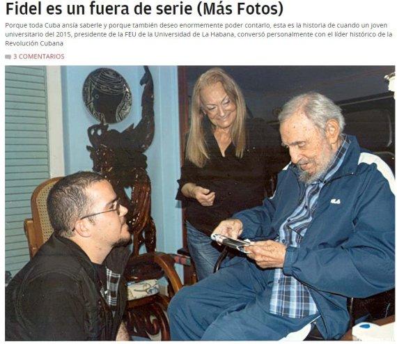 photos fidel castro