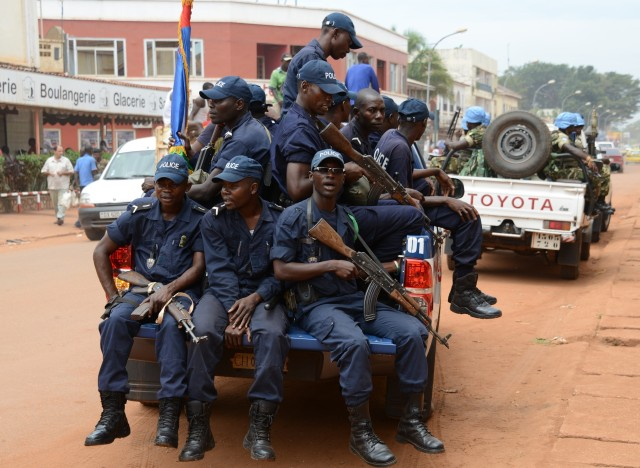 central african republic police