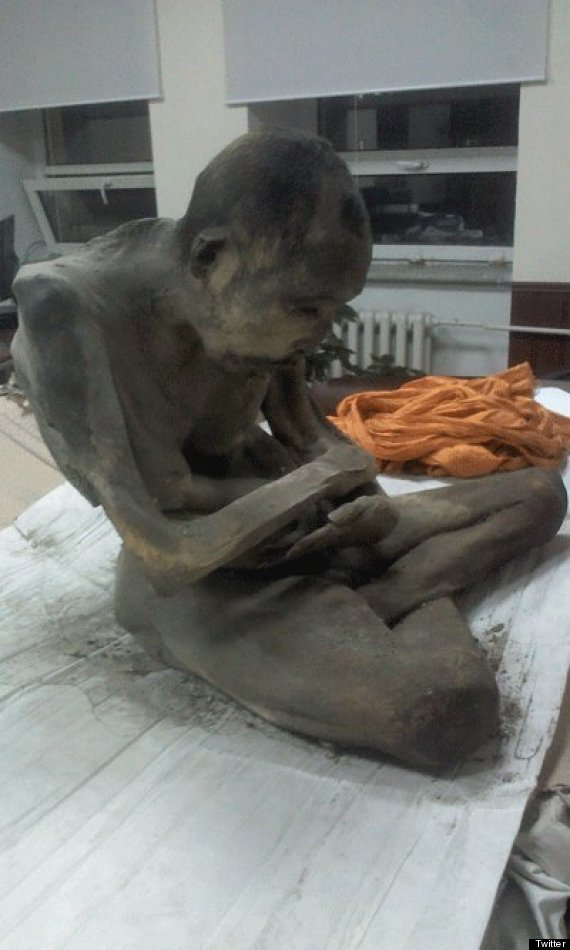 Mummified Mongolian Monk Is Not Dead, He Has Been Meditating For 200 Years, Experts Say