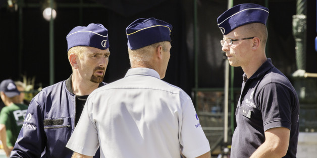 Policier belges, Bruxelles, 2013
